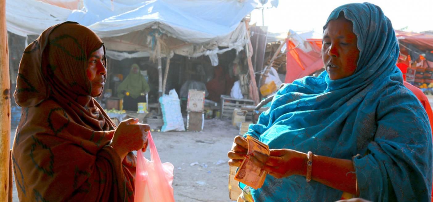 Somali Banking at Market