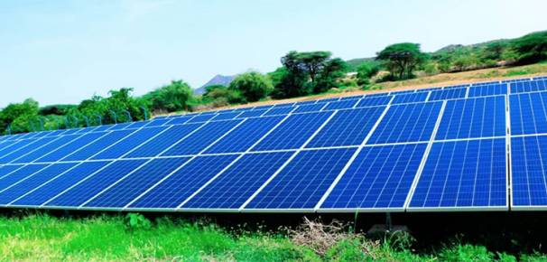Solar Panel Installation in the Somali Region