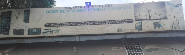 Kaafi Horn Renewable Energy Company Somalia