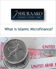 what is islamic microfinance